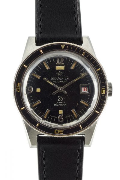 Insa watch vintage diver