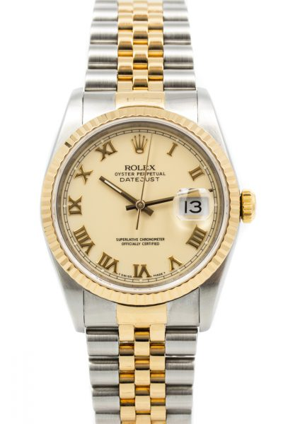 Rolex Datejust Ref. 16233 'Cream dial'