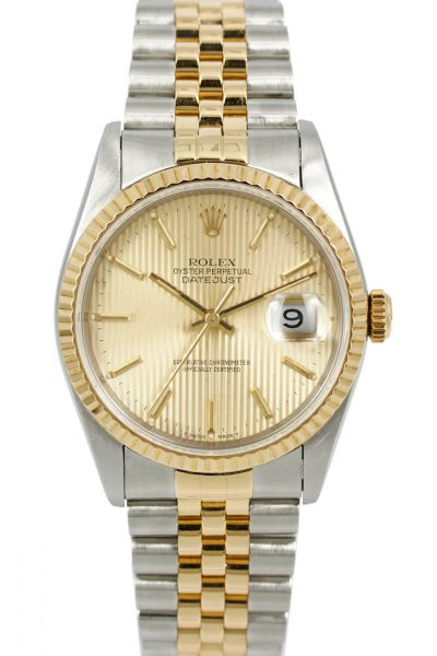 Rolex Datejust Ref 16233 Tapestry Papers