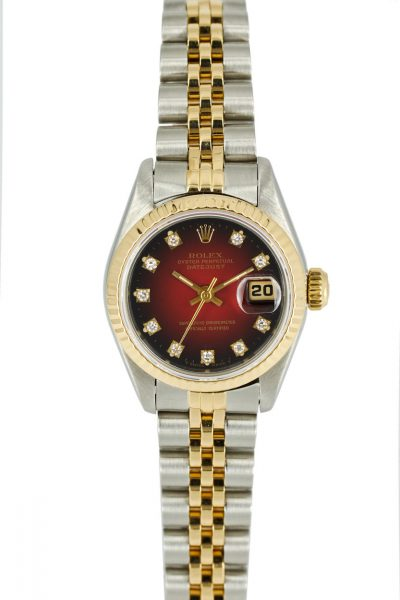 """Rolex Datejust Ref. 69173 """"Red Vignette"""""""